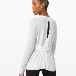 lululemon Sincerely Yours Sweater white